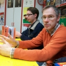 28.03.2013 - Žiga Valetič in Gašper Rus - predstavitev stripa Gugalnica
